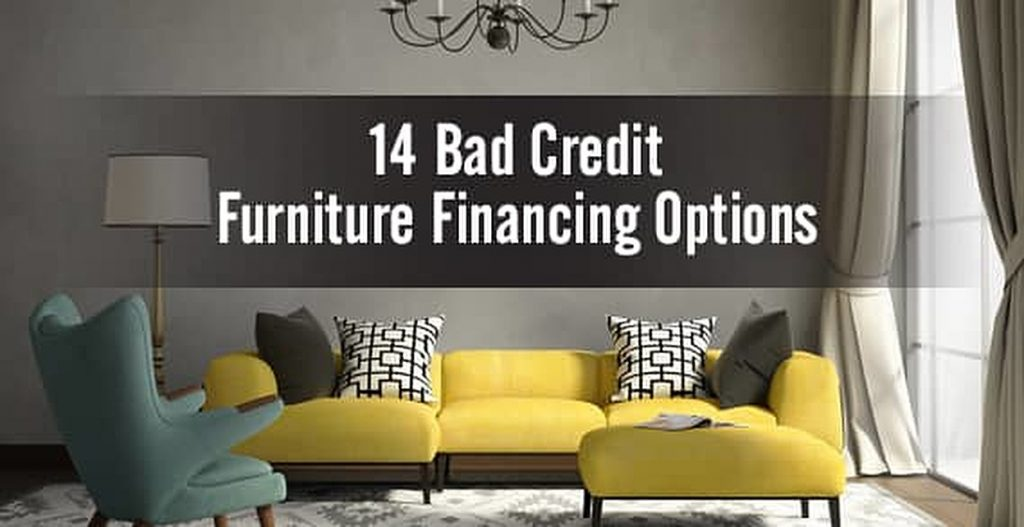 Bad credit furniture financing