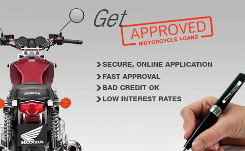 Motorcycle Loan from a Third-Party Lender